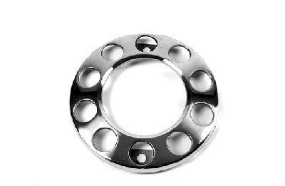 "open sierring - opstapring rvs 22.5"" , stainless steel Front Wheel Trim (Donut Type) , Radbolzen Abdeckung vorder rad LK"
