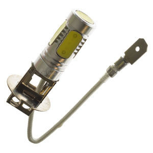 H3 led lamp xenon look 7 5 watt 24v for Lampadine led 5 watt