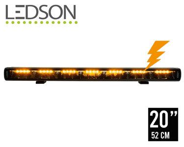 LEDSON PHOENIX+ LED BAR MET FLITSER