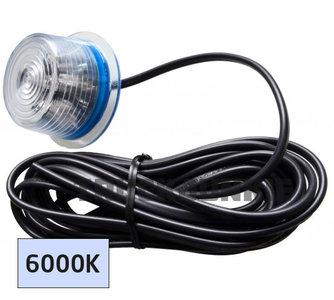 GYLLE led sidemarker xenon white - helder wit LED