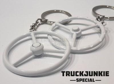 wit stuur sleutelhanger Truckjunkie