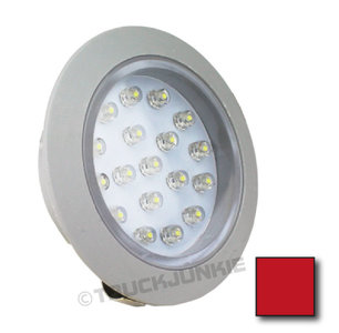 Rood interieur spot 24v for Led verlichting interieur