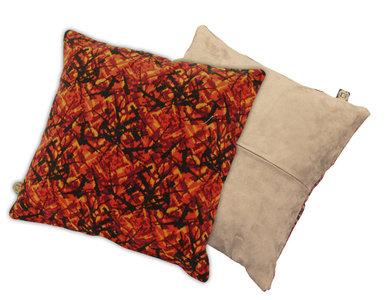 Stof Voor Kussens : Gezellige hoeksalon in stof met kussens te koop dehands be
