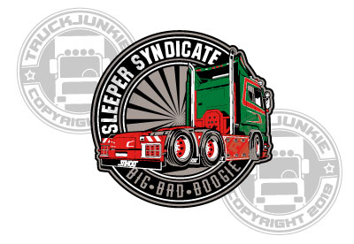 SLEEPER SYNDICATE STICKER