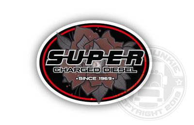 SUPER SINCE 1969 - FULL PRINT STICKER