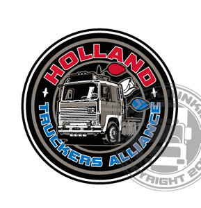 HOLLAND TRUCKERS ALLIANCE - FULL PRINT STICKER