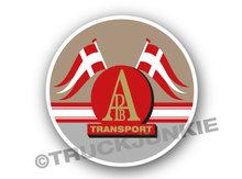 aNDERS TRANSPORT dENMARK STICKER