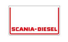 SCANIA•DIESEL-SPATLAP-60x35CM-WITTE-RODE-OPDRUK
