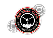 OLS DKOOL CLUB HONOR RESPECT LOYALTY STICKER