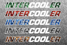 INTERCOOLER DEENSE PLUCHE STICKER