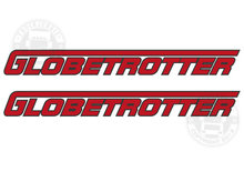 globetrotter sticker Volvo vrachtwagen sticker