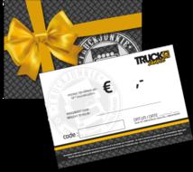kadobon Truckjunkie - gift voucher
