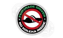FAIRTRADE DRIVER NO KOLEKA STICKER VRACHTWAGEN - DUTCHDRIVER