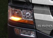 Scania next gen drl oranje
