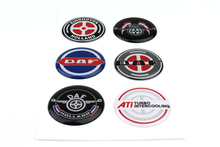 3d stickers daf autocollant