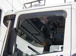 side window wind deflector for Scania r and Scania 4 serie , streamline WITH CLIPS MOUNTED